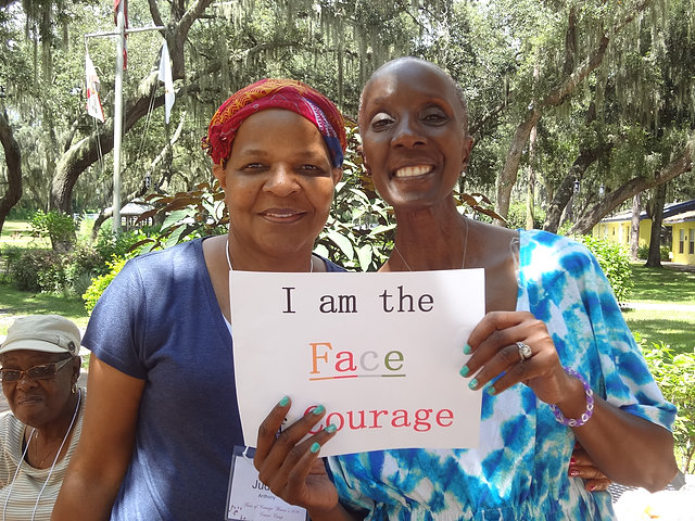 Faces of Courage Women of Color Camp
