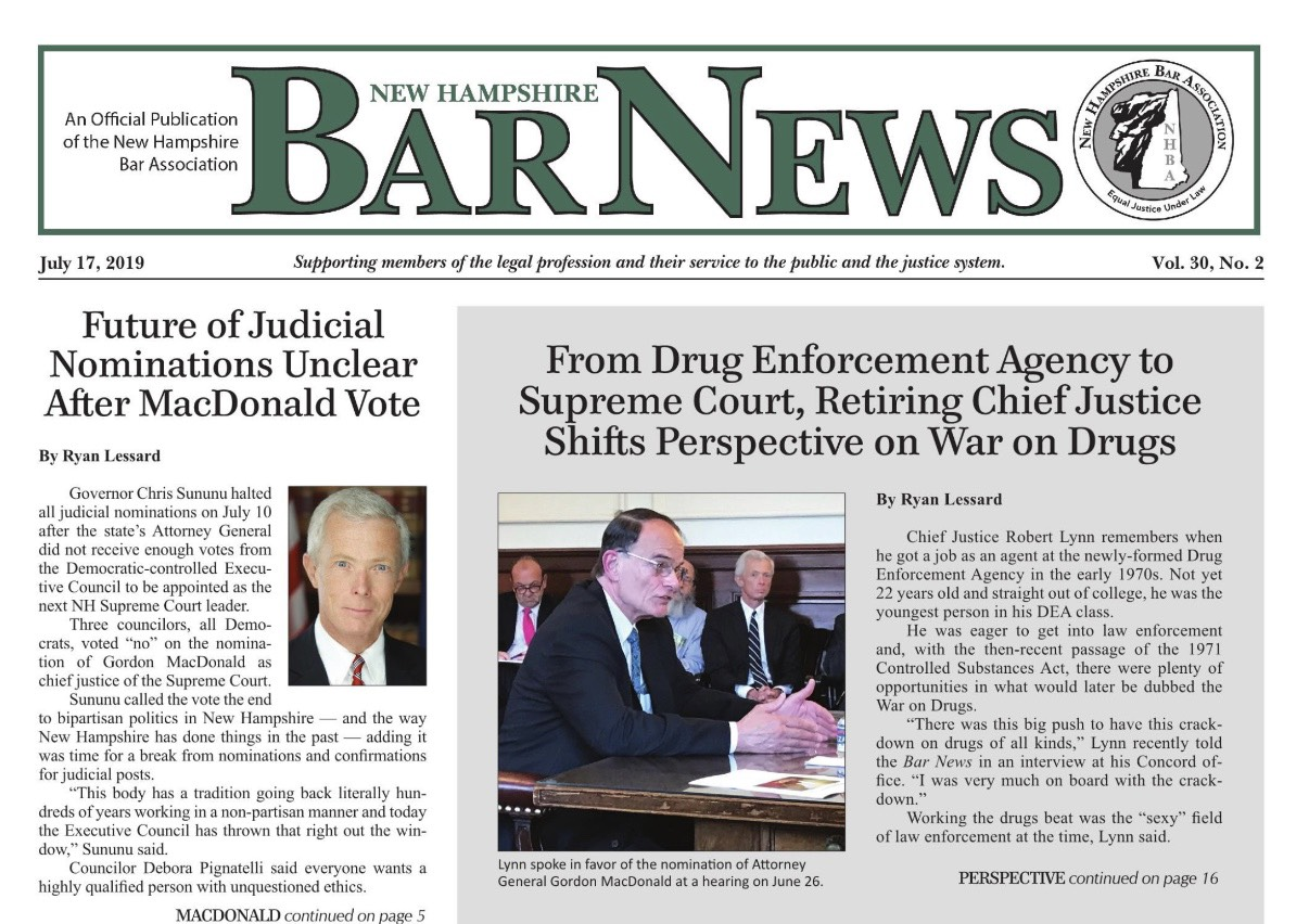 New Hampshire Bar News