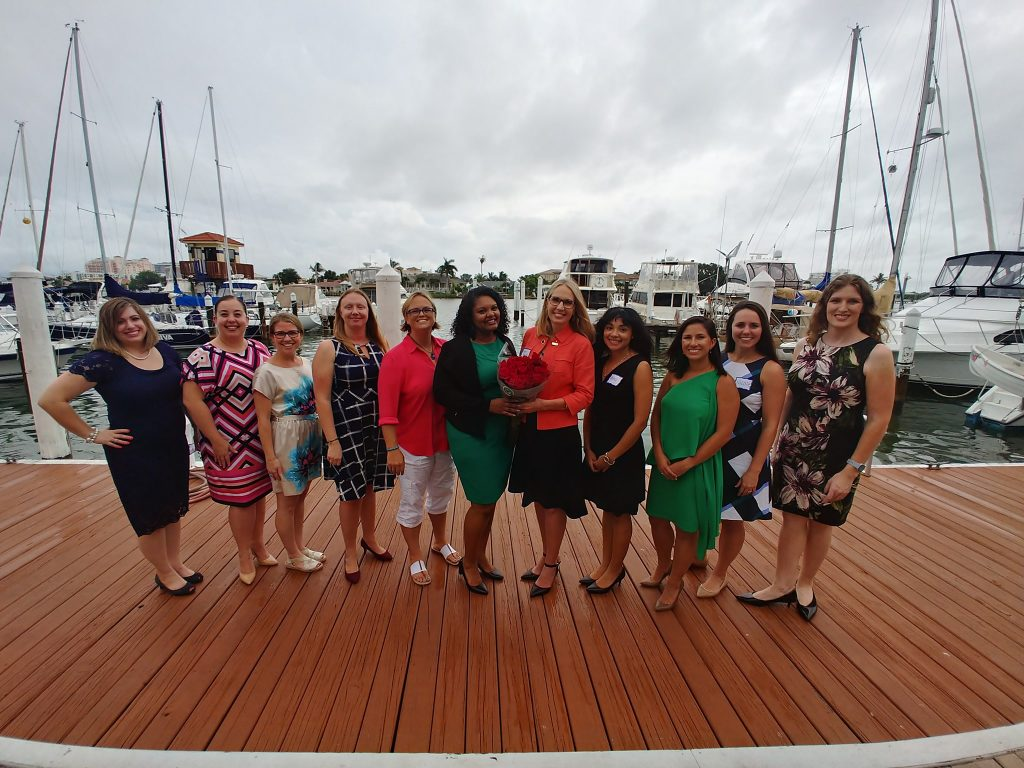 Florida Association for Women Lawyers members group photo