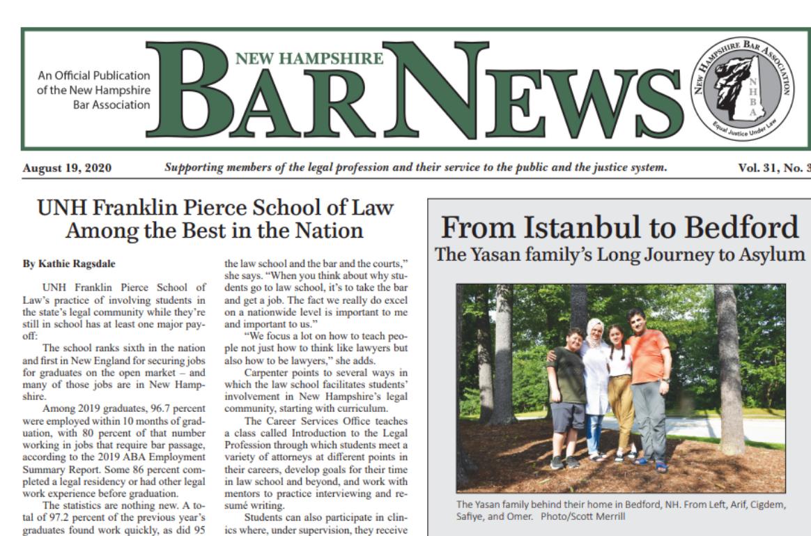 New Hampshire Bar Association News